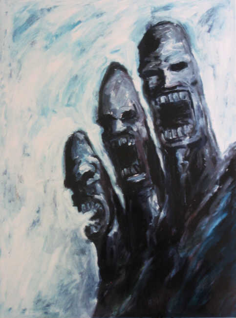 Clive Barker - Three Screaming Heads