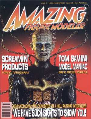 Amazing Figure Modeller - No 11, 1998