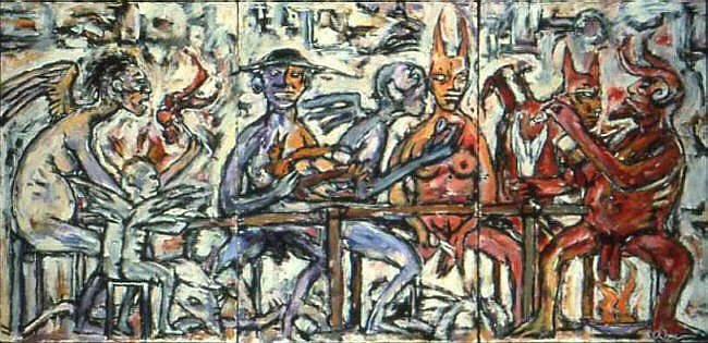 Clive Barker - Angels And Demons Dining Together