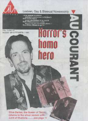 Au Courant - Vol 13 No 43, 29 August - 4 September 1995