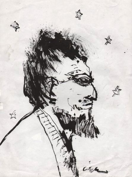 Clive Barker - Bearded Man