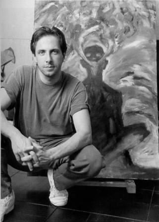 Clive Barker by Beth Gwinn for Dark Dreamers, 2001