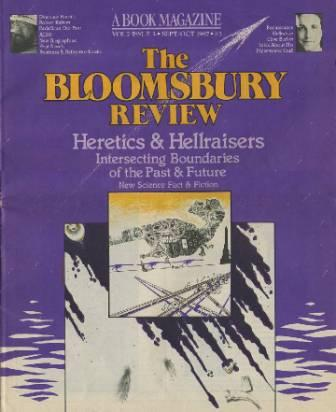 The Bloomsbury Review, Vol 7 No 5, September/October 1987
