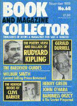 Book And Magazine Collector - No 68, November 1989