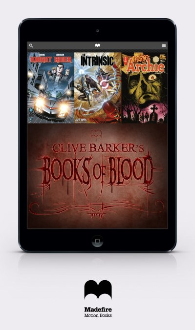 Clive Barker - Books of Blood - Madefire