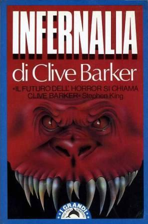 Clive Barker - Books of Blood - Italy, 1990