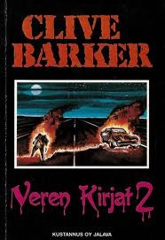 Clive Barker - Books of Blood - Volume Two, Finland, 1990