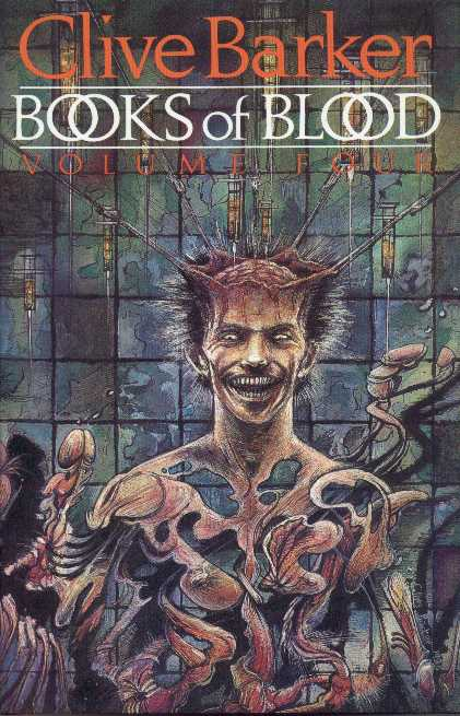 Clive Barker - Books Of Blood 4, Wiedenfeld & Nicolson, 1985 limited