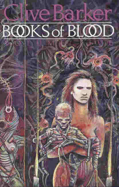 Clive Barker - Books Of Blood 5, Wiedenfeld & Nicolson, 1985 limited