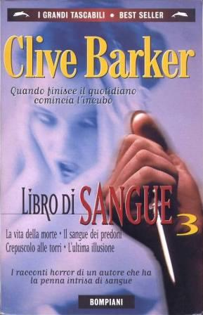 Clive Barker - Books of Blood - Italy, 1999