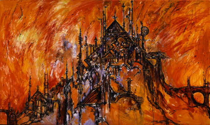 Clive Barker - Burning Of Carrion's Palace
