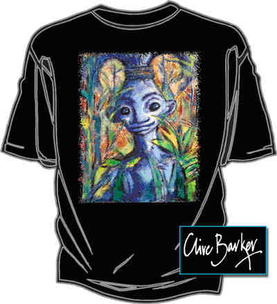 Graphic Gear - Clive Barker - Bush Baby T-shirt