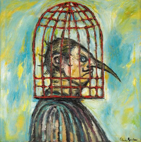 Clive Barker - Caged Head