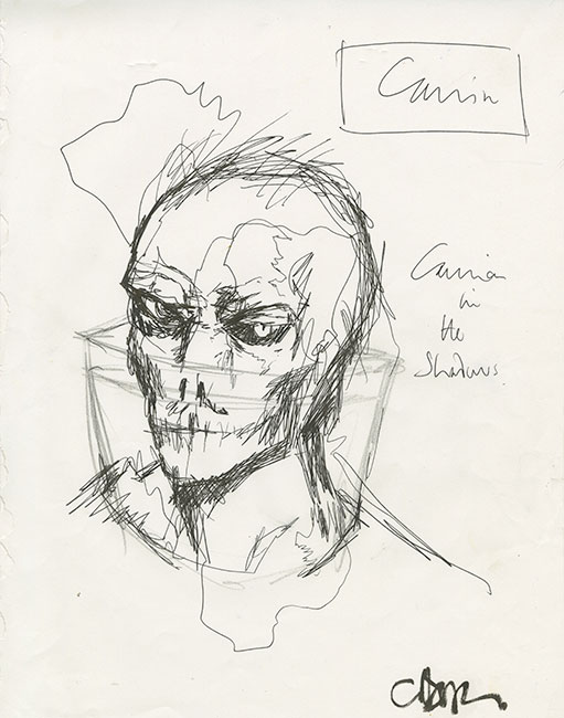 Clive Barker - Carrion in the Shadows
