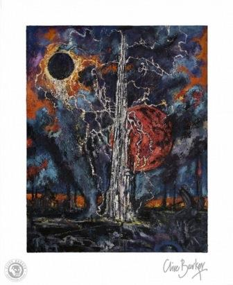 Clive Barker - Tower print