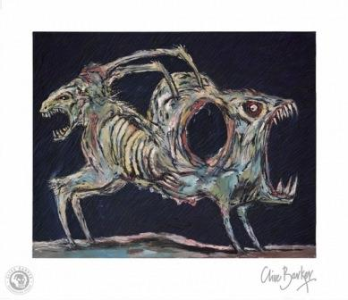 Clive Barker - The Demon Hungers print
