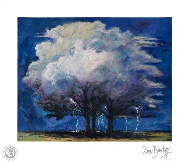 Clive Barker - The Lightning Tree print