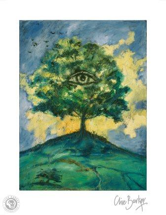 Clive Barker - The Tree of Knowing print