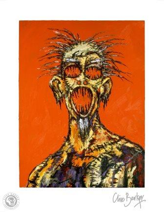 Clive Barker - Scream print