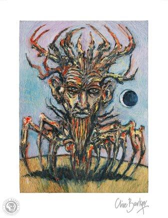 Clive Barker - The Crab King print