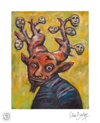 Clive Barker - Mischief Brothers print