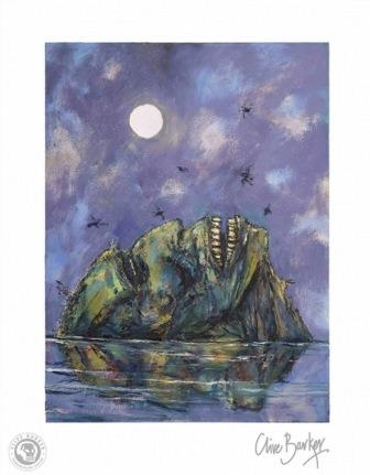 Clive Barker - Death's Island print