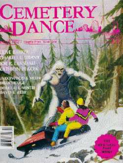Cemetery Dance, Vol 4 No 1, Winter 1992