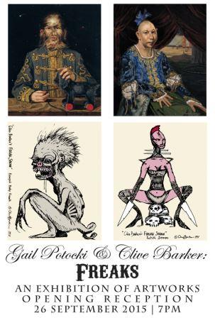 Clive Barker and Gail Potocki - Freaks