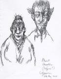 Clive Barker - Abarat Character