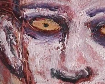 Clive Barker - Insane close-up
