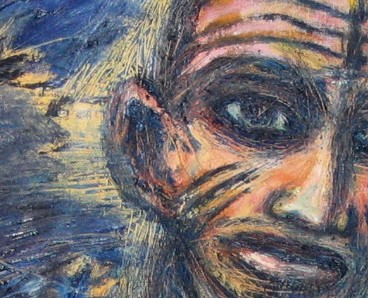Clive Barker - The Man In The Trees close-up