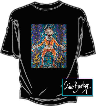 Graphic Gear - Clive Barker - Not Clowning T-shirt