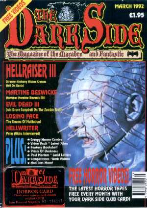 The Dark Side, No 18, March 1992