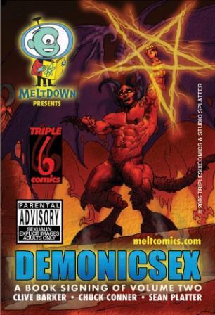 Gay demon comics