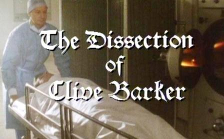 The Dissection of Clive Barker - Granada Television, UK, 1990