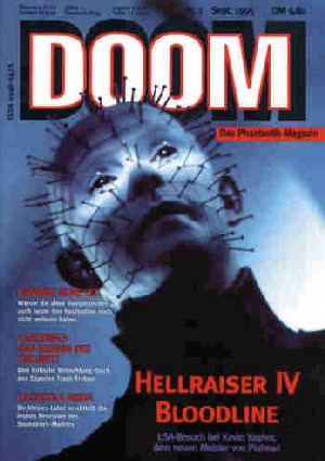 Doom, No 1, September 1995