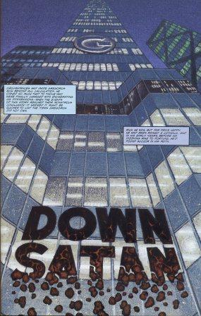Down Satan! - Steve Niles / Tim Conrad's 1992 graphic adaptation