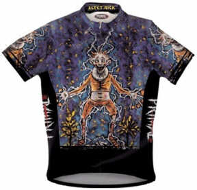Primal Wear - Clive Barker - Elect Rick cycling shirt