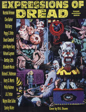 Expressions Of Dread, Third Annual Issue, Winter 1993/94