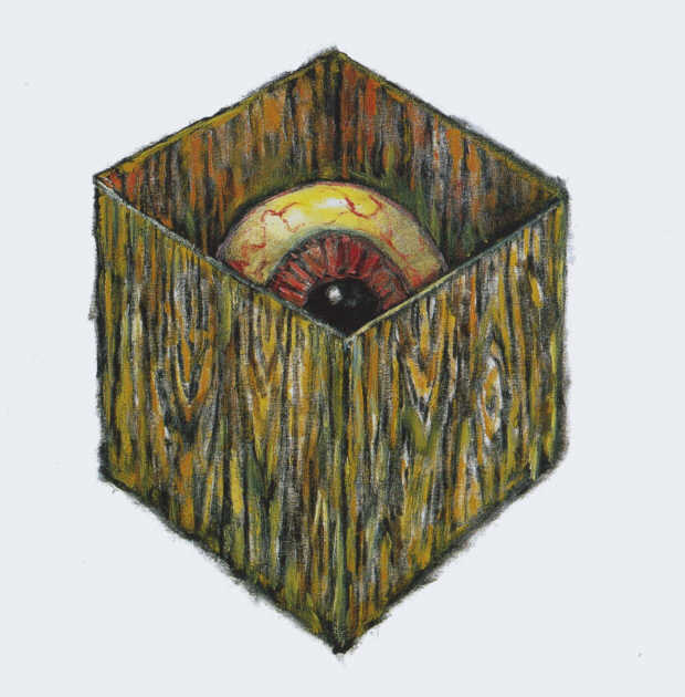 Clive Barker - Eye In A Box