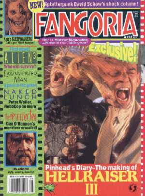 Fangoria, No 112, May 1992