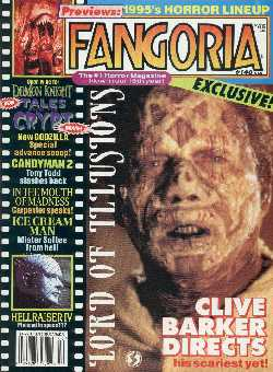 Fangoria, No 140, March 1995