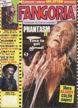 Fangoria, No 75, July 1988