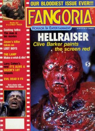 Cover of Fangoria, Issue 67, September 1987