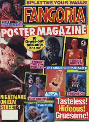 Fangoria Poster Magazine, No 3, Fall 1988