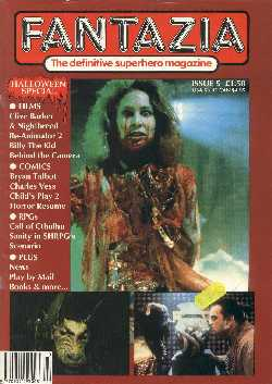 Fantazia, No 5, October 1990