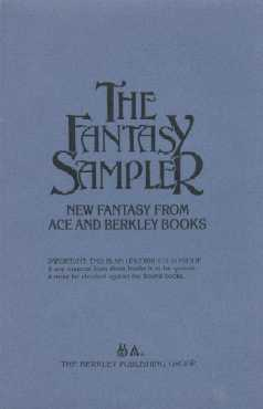 The Fantasy Sampler proof