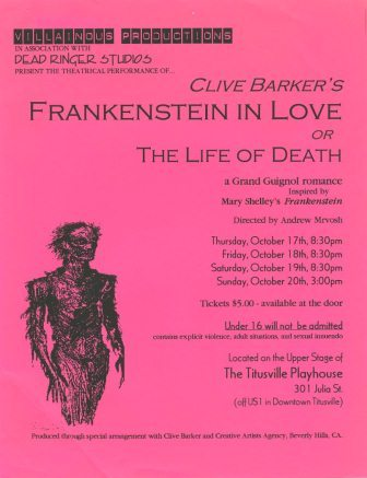 Frankenstein In Love, 1996