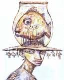 Clive Barker - Lady With A Fish-Hat