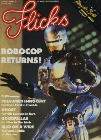 Flicks, Vol 3 No 10, October 1990